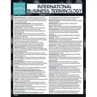 International Business Terminology Speedy Study Guide par Publishing LLC et Speedy