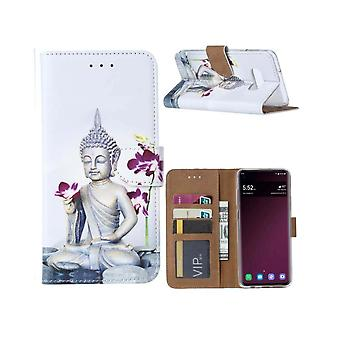 FONU Boekmodel Hoesje Buddha Samsung Galaxy S10e