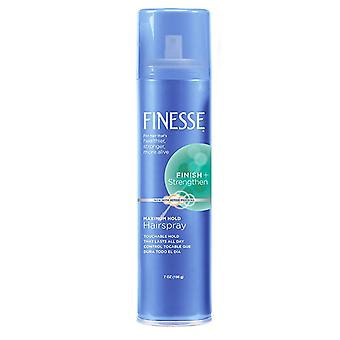 Finesse auto réglage laque, attente maximale, 7 oz