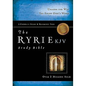 Ryrie Study Bible-KJV by Charles C Ryrie - 9780802489029 Book