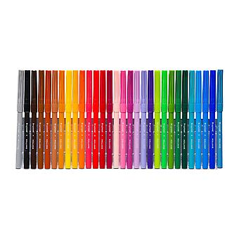 Bruynzeel Felt Tip Pens Set of 30 Colours