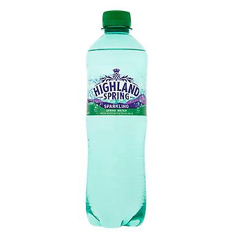 24 x 500ml Highland Spring Sparkling Mineral Water Healthy Fizzy Soft Drink UK