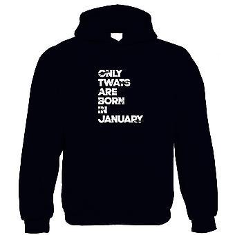 Sweat à capuche anniversaire janvier - Cadeau