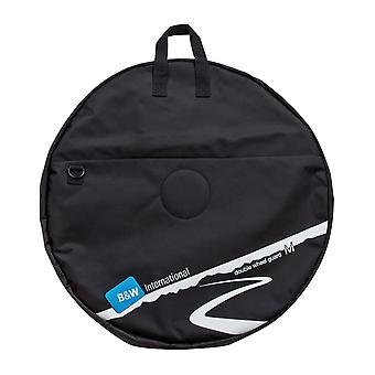 B&W Double Wheel Guard M Wheel Bag, Nero
