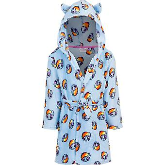 My little pony girls dressing gown robe