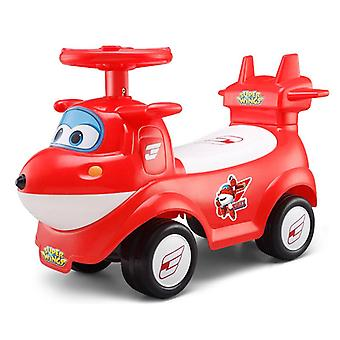 rideontoys4u superwings jett red kids ride on air plane car with music function