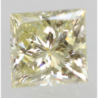Certified 0.75 Carat K VVS1 Princess Enhanced Natural Diamond 5.04x4.84mm 2EX
