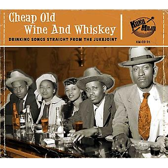 Various Artist - Cheap Old Wine & Whiskey [CD] USA import