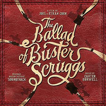 Carter Burwell - Ballad of Buster Scruggs (Original Motion Picture) [CD] USA import