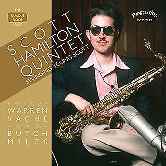 Scott Hamilton - Swinging Young Scott [CD] USA import