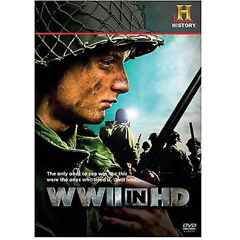WWII in Hd [DVD] USA import
