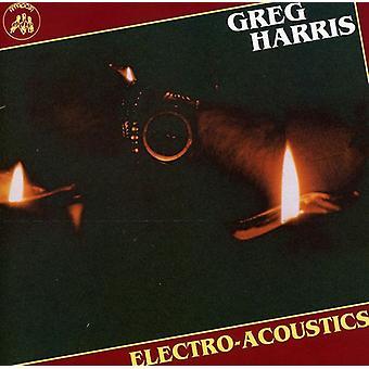 Greg Harris - Electro-Acoustics [CD] USA import