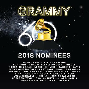 Divers Artiste - 2018 Grammy Nominees [CD] USA import