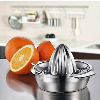 Portable Lemon Orange Manual - Fruit Juicer 304 Stainless Steel Kitchen