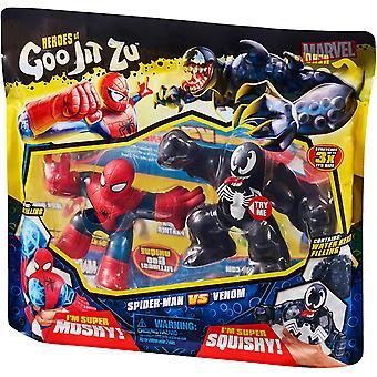 Heroes of Goo Jit Zu Versus Pack Spider-Man Vs Venom