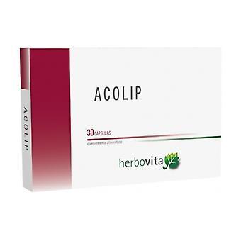 Acolip 30 capsules