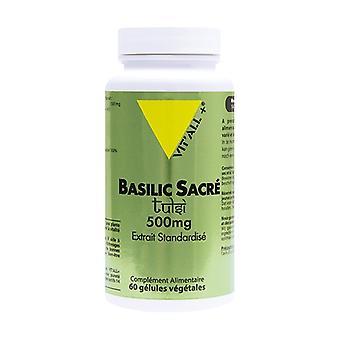 Holy basil Tulsi 500 mg 60 capsules
