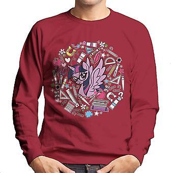 My Little Pony Twilight Sparkle Ready For School Men's Sweatshirt