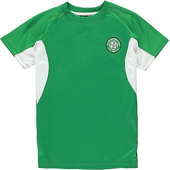 Source Lab Celtic FC Poly T-Shirt Junior Boys