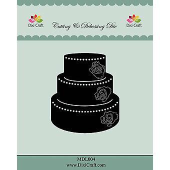 Dixi Craft Wedding Cake Metal Cutting & Debossing Die