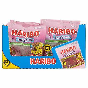 HARIBO FairyLand 1.92kg, bulk sweets, 12 packs of 160g