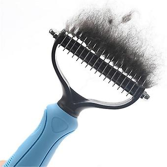 Hair Removal Comb And Detangler Brush-grooming Tool For Pets