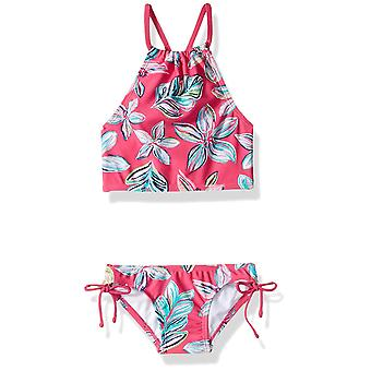 Kanu Surf Big Girls' Daisy Beach Sport Halter Tankini 2-Piece Costume da bagno, Charl...