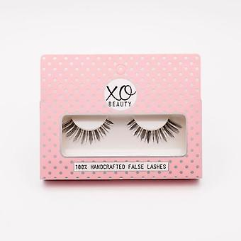 xoBeauty False Lashes - The Fan Girl - Dramatic Ultra Curled Winged Out