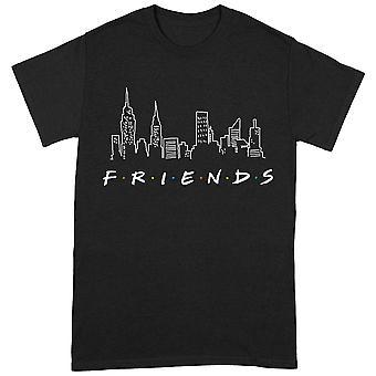 Venner Skyline Offisielle T-skjorte Unisex