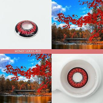 Honey Series Cosmetic Contact Lenses Eye Color Yealy Use