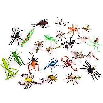 Simulaatio Muovi Pvc Mini Hyönteiseläimet Malli Koulutus Lelu