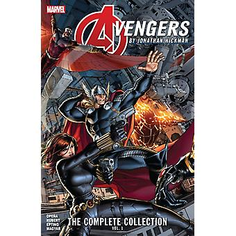 Avengers By Jonathan Hickman The Complete Collection Vol. 1 by Hickman & Jonathan