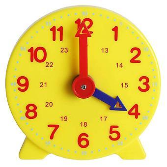 الأطفال التعليمية المنبه ساعة الوقت تعلم ساعة في وقت مبكر تعليم رقم المنبه المنبه على مدار الساعة التعليم (multicolor)