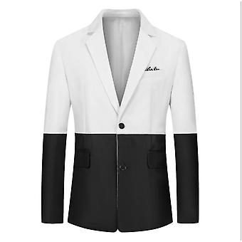 Slim Fit 2 Piece Suit For Men Two Button Casual/formal/wedding Tuxedo
