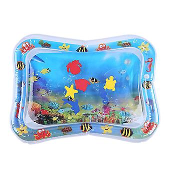 Baby Kids Water Play Mat - Inflatable Infants Tummy Time Playmat - Water Game