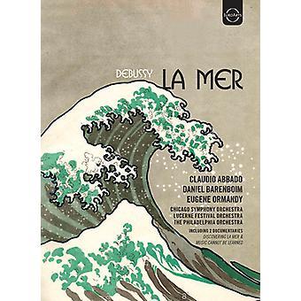 Claude Debussy: La Mer [DVD] USA import