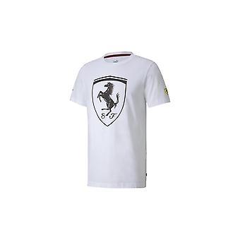 Puma Ferrari Big Shield Tee 59854505 universal all year men t-shirt