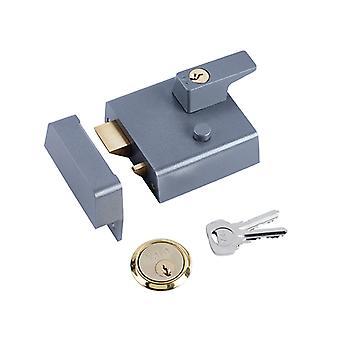 Yale YALP1DMGPB P1 Double Security Nightlatch DMG PB Cylinder 60mm Backset Visi