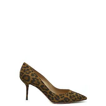 Aquazzura Ezbc440003 Donne's Pompe di scamosciata leopardo
