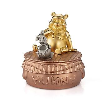 Disney By Royal Selangor 016318E Limited Edition Gilt Winnie The Pooh Music Carousel