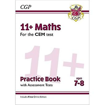 New 11+ CEM Maths Practice� Book & Assessment Tests -� Ages 7-8 (with Online Edition)