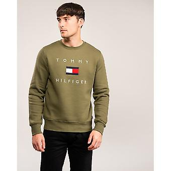 Tommy Hilfiger Tommy Hilfiger Flag Mens Sweatshirt