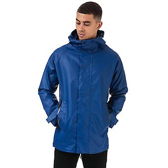 Men's Henri Lloyd Consort chaqueta recubierta de goma en azul