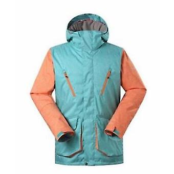 Mens  Snow  Ski Jacket And Double Plate Outdoor Waterproof  Windproof Jacket