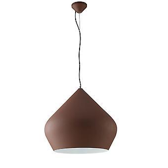 Dome Plafond hanger, Corten, Wit, E27
