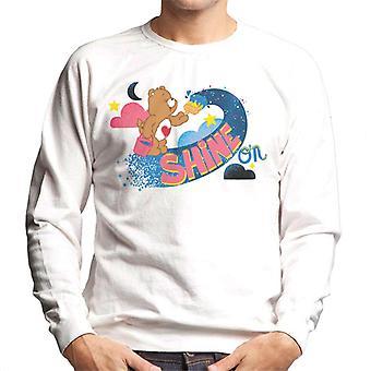 Care Bears Tenderheart Bear Shine On Men's Sweatshirt