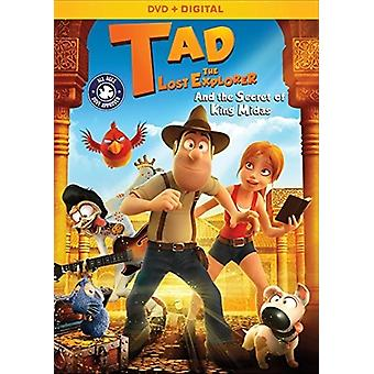 Tad the Lost Explorer & the Secret of King Midas [DVD] USA import