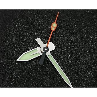 Värikäs Katsella kädet keltainen /oranssi Set Sumo Skx Srpd Mod For 4r35 7s26 Nh35