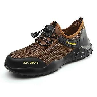 Men Light Sneaker Indestructible Steel Toe Soft Anti-piercing Work Boots