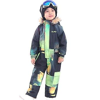Children Outdoor Sports - Waterproof Hooded Ski Suits